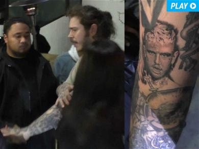 Post Malone: Peep My New Tribute Ink