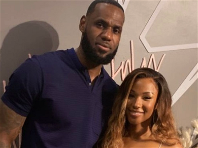 LeBron James Gets Down For Wife Savannah James' Birthday Party