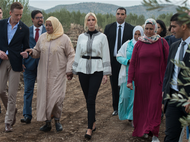 Ivanka Trump Stuns During Trip to Morocco In Local Designs and These $145 Flats