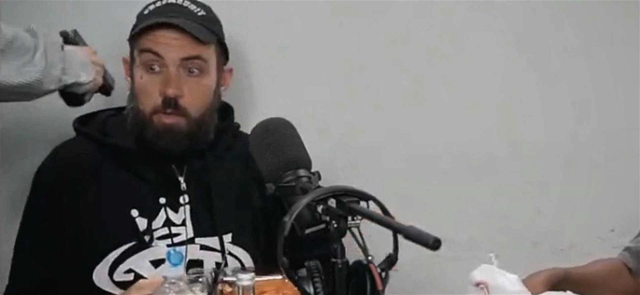 YouTube Star Adam22 Threatened with a Gun During Live Broadcast
