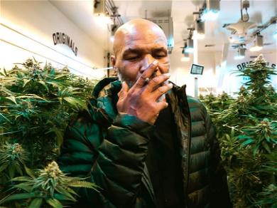 Mike Tyson Smokes $40,000 Worth of Marijuana Every Month
