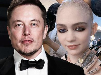 Rumors Swirl That Elon Musk & Grimes Are Naming Their Baby 'Influenza'
