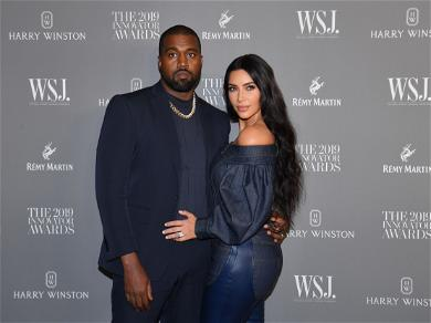 """Kanye West And Kim Kardashian's Children Reportedly Gave Her A Break After """"Chaos"""" In The Home"""
