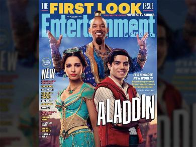 Will Smith Reveals Genie Look for 'Aladdin' & Promises He'll Be Blue