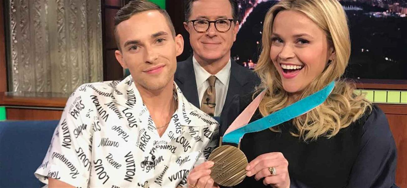 Reese Witherspoon Met Her Olympic Crush Adam Rippon and It Was Adorbs