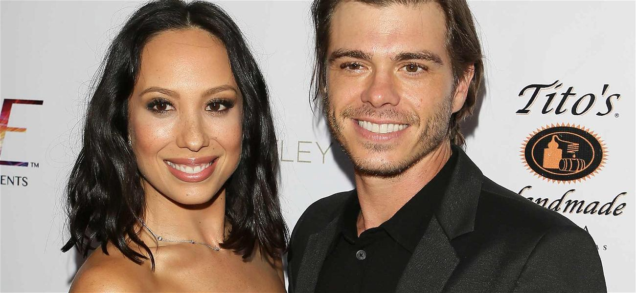 'Dancing With the Stars' Pro Cheryl Burke Marries Matthew Lawrence