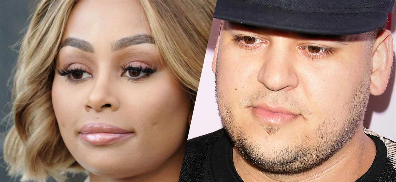 Blac Chyna Agrees to Buy Rob Kardashian a New TV But Says His Gingerbread House Isn't Worth Jack