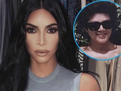 Kim Kardashian Posts Kris Jenner's Sizzling Bikini Body For Mother's Day Tribute