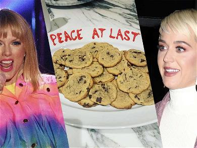 Taylor Swift & Katy Perry Make Up Over Cookies After Years of Bad Blood