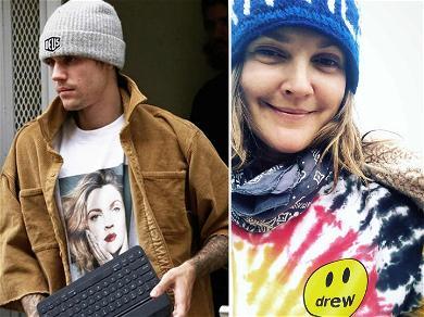 Justin Bieber's Got Drew Barrymore On His Mind