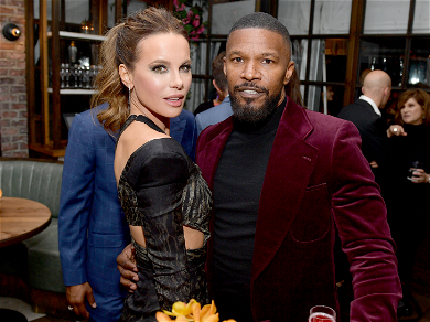 Jamie Foxx & Kate Beckinsale Spark Romance Rumors After Getting Cozy At Glitzy Event