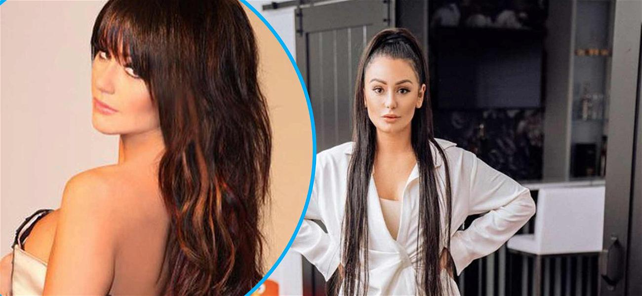 JWoww Shares Sultry Throwback Unzipping The Back Of Her Dress While 'Stuck At Home'