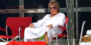 Rod Stewart Taps Into 'Emotion' During Vacation On Mega Yacht