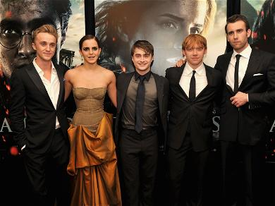 Emma Watson Reunites With Her 'Harry Potter' Castmates For Christmas