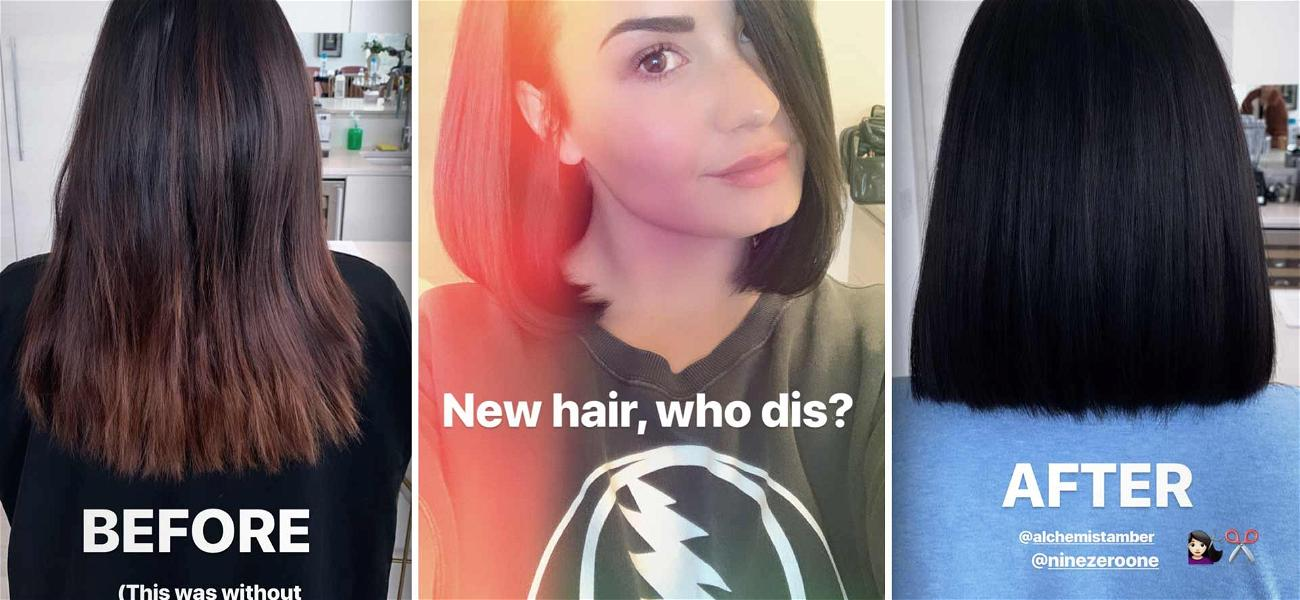 Demi Lovato Is 'Sorry Not Sorry' That She Chopped Off Her Long Locks