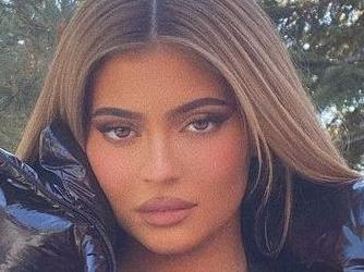 Kylie Jenner's Massive DDs Struggle In Wet Stringy Bikini