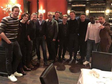 Armie Hammer Thanks James Franco for Hosting the Coolest Golden Globes Dinner Ever