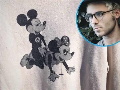 Ex-Disney Star Demi Lovato's Friend Sold Shirts Depicting Nazi Mickey Mouse Mounting Minnie
