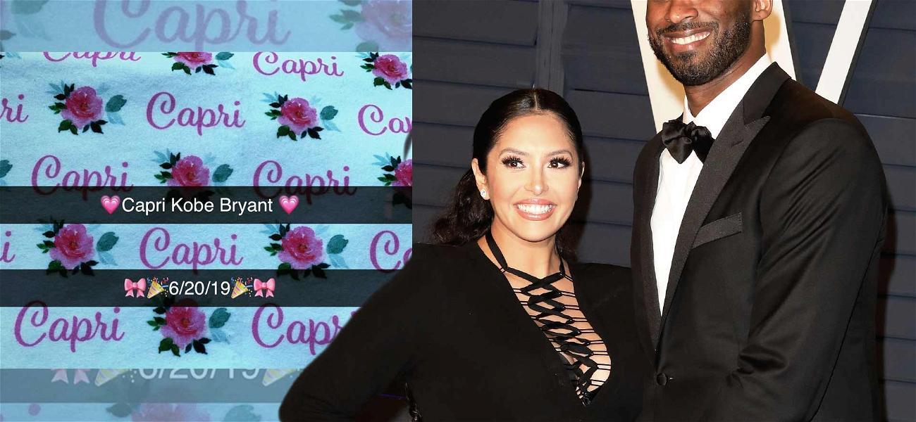 Kobe Bryant Welcomes 4th Daughter, Capri, With Wife Vanessa