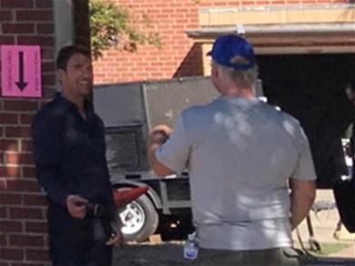 Dylan McDermott Spotted Filming New Season of 'American Horror Story'
