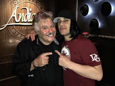 Criss Angel Helps Vegas Legend Tony Orlando Celebrate 75th Birthday