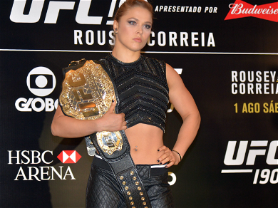 'WWE' Star Ronda Rousey Shows Off First Baby Sonogram Pictures!