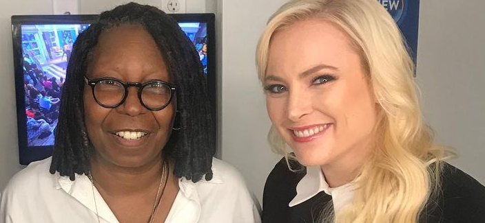 Meghan McCain Reportedly Worried About Being Fired From 'The View' After Whoopi Fight