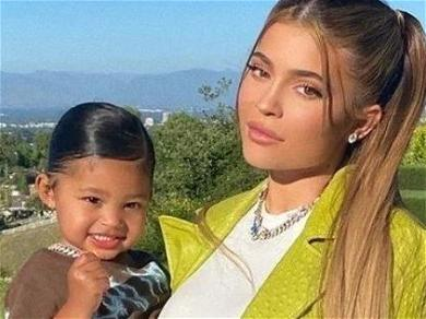 Kylie Jenner Celebrates Mother's Day In Twinning Bikini