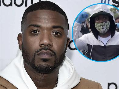 Ray J Abandons Rolls-Royce Convertible To Protest George Floyd's Death