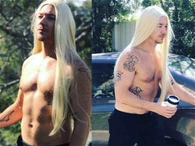 Diplo Channels His Inner Kim K for Faux Yeezy Photoshoot