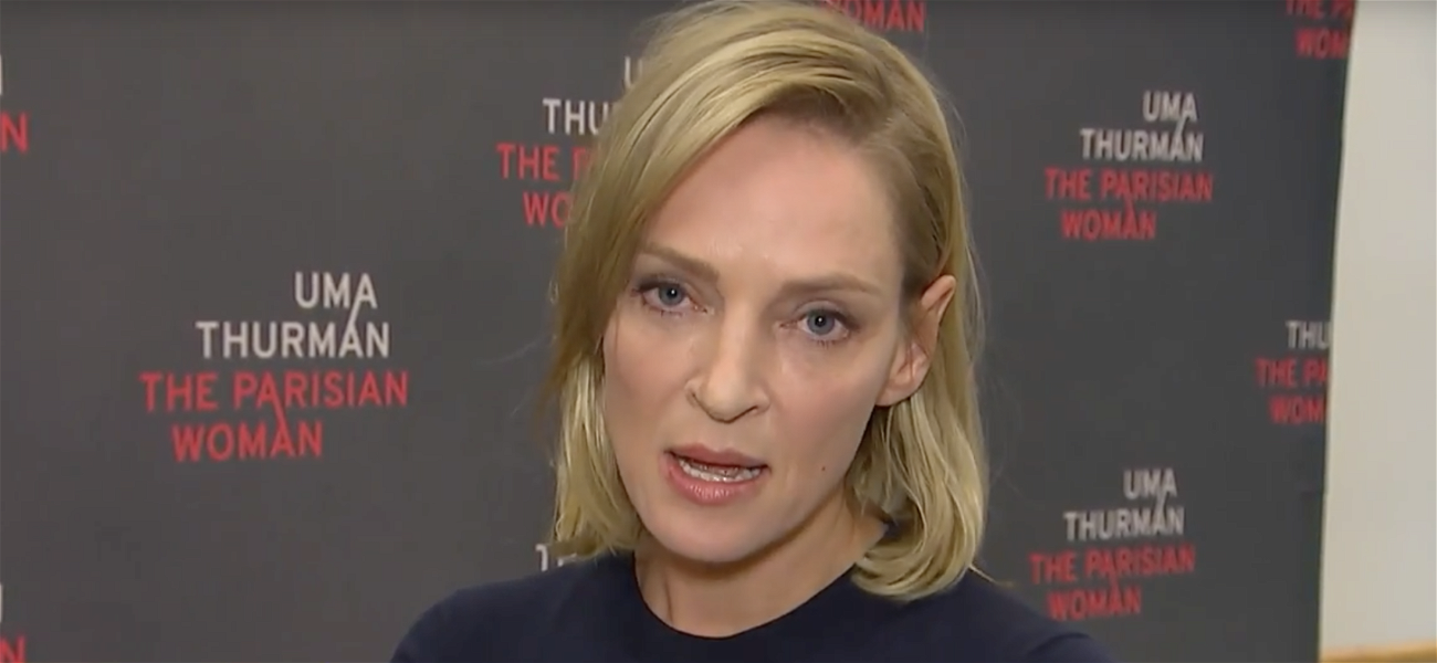 Uma Thurman Seethes with Anger Over Harassment in Hollywood