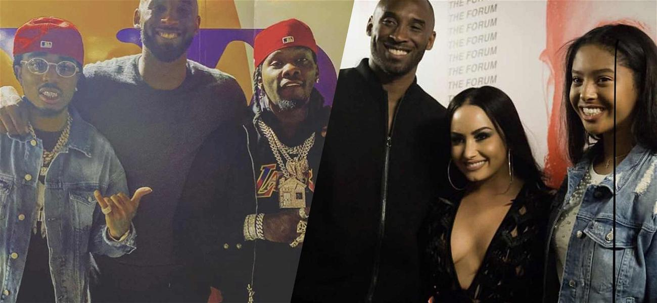 Drake, Kevin Hart, Demi Lovato & More Remember Kobe Bryant: 'Rest In Paradise'