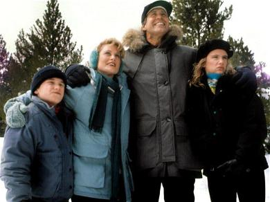 A Clark And Rusty Scene Was Deleted From 'Christmas Vacation'