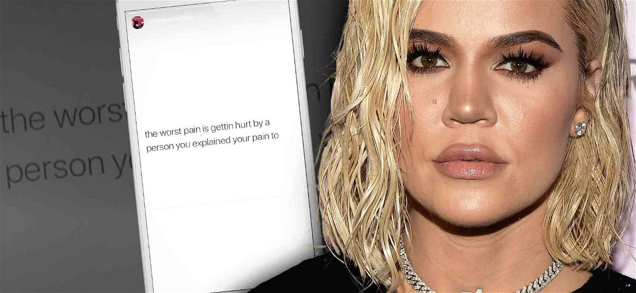 Khloé Kardashian Speaks Out About Cheating Scandal, Says Tristan Thompson 'Broke Her'