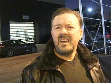 Ricky Gervais Says Tide Pods Are for Bathing, Not Eating!!!