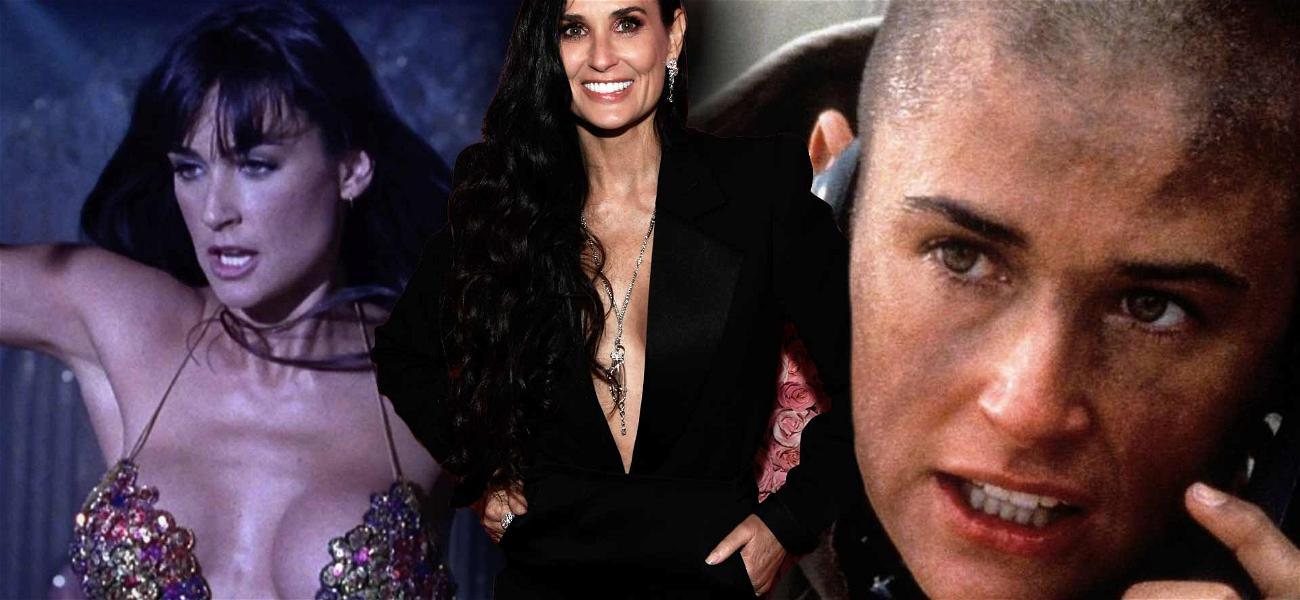Demi Moore Says She Hasn't Worked Out in Four Years Despite Her Fit Bod