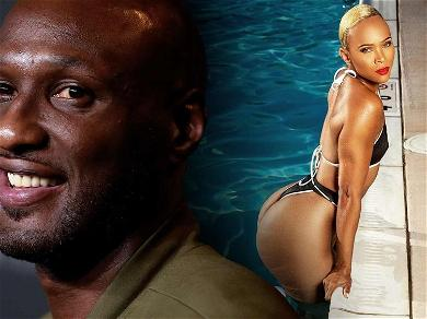 Lamar Odom's Fiancée Sabrina Parr Wows Sweat-Drenched In Swimsuit Workout Shot