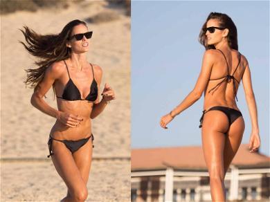 'VS' Model Izabel Goulart Makes Working Out Look Good