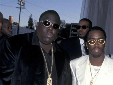 Diddy & Faith Evans Pay Tribute to Notorious B.I.G. on 21st Anniversary of Death