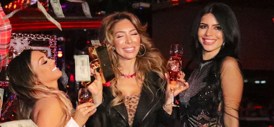 'Jersey Shore' Ronnie's Ex Jen Harley Parties With Farrah, Larissa, Strippers