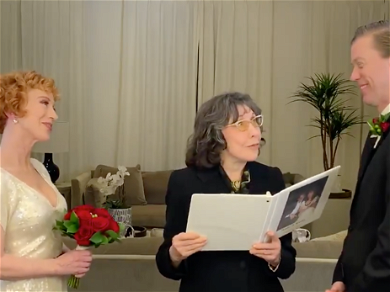 Kathy Griffin Gets Married Minutes After Midnight On NYE, Lily Tomlin Officiates
