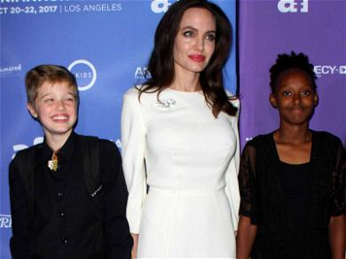 Angelina Jolie Has Mother-Daughters Night Out in Hollywood