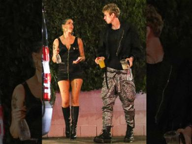 Halsey Hanging Out With Machine Gun Kelly Days Before Announcing G-Eazy Breakup