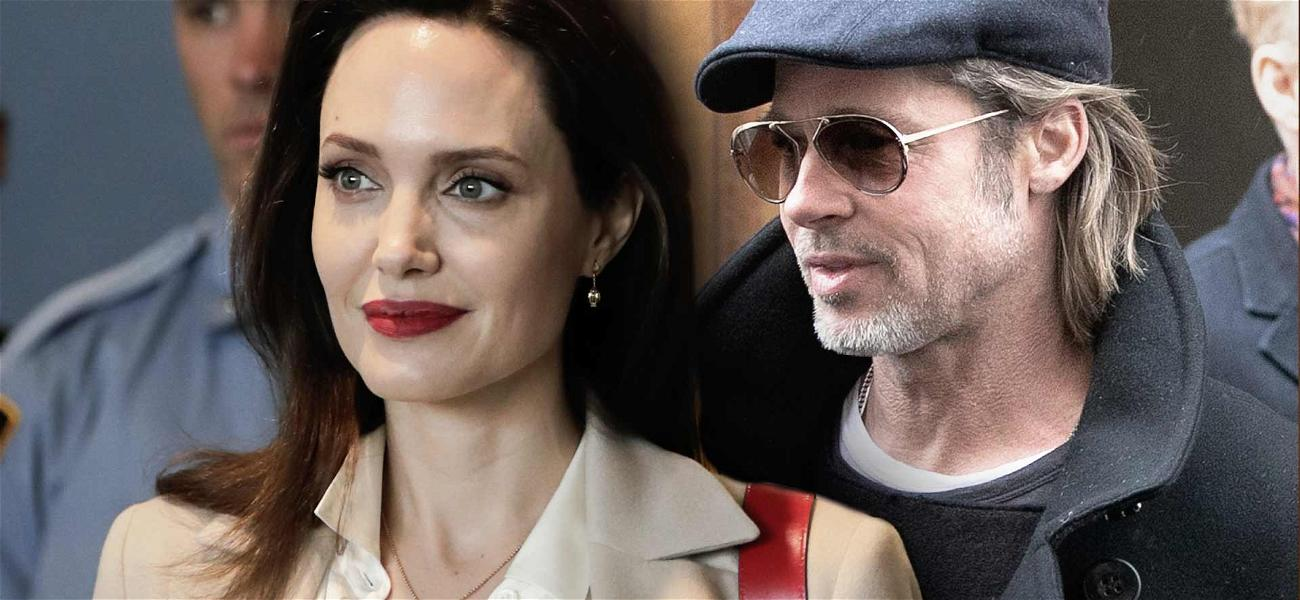 Angelina Jolie's Life No Longer in the 'Pitts' … Gets Old Name Restored