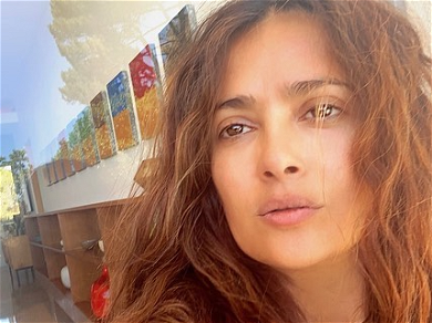 Salma Hayek Prays The Fires Stop Destroying California & Oregon; Brings Attention To Climate Change