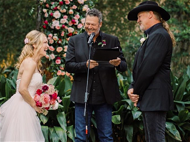 Blake Shelton Officiated Trace Adkins' Marriage Ceremony!