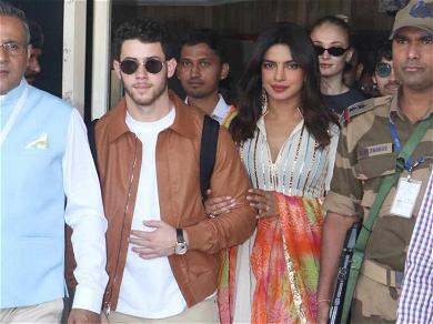 Nick Jonas, Priyanka Chopra & Family Land in Jodhpur Ahead of Their Wedding