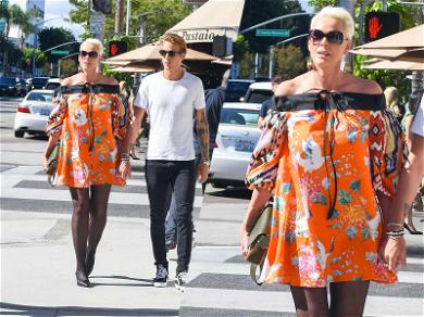 Brigitte Nielsen Out and About While Fate in 'Creed 2' Still Hangs in the Balance