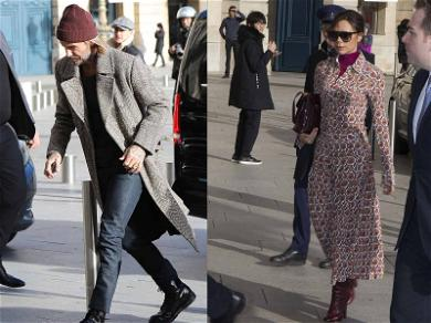 David and Victoria Beckham Go on Shopping Spree Before Fashion Week