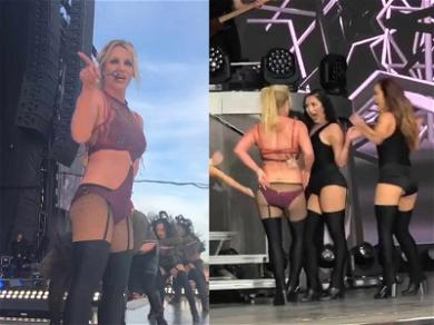Britney Spears Closes Out Tour and Performs for Her New Niece for the First Time